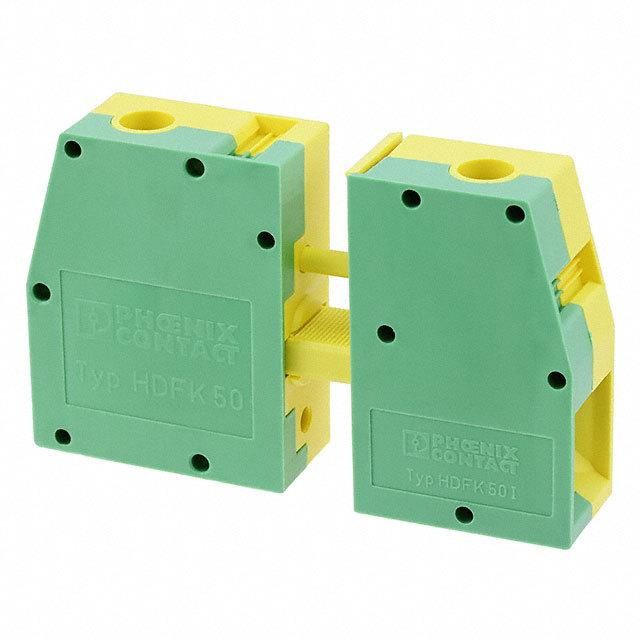 【0708726】TERM BLK SCREW CLAMP 1POS GREEN