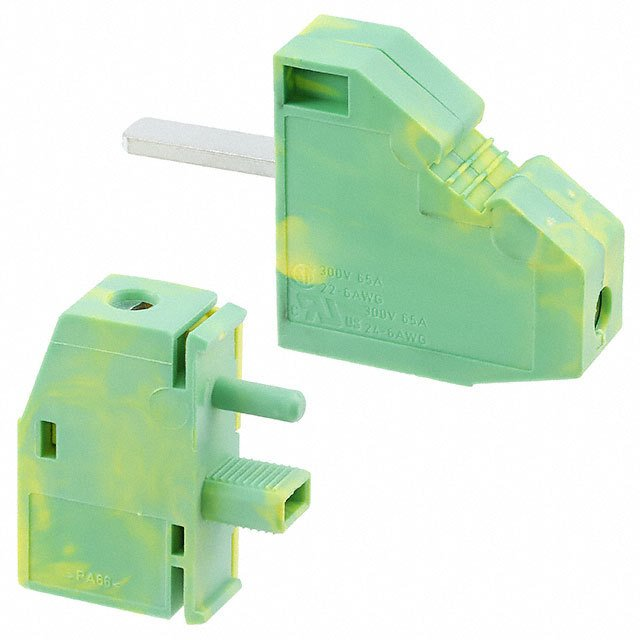 【0709291】TERM BLK SCREW CLAMP 1POS GREEN