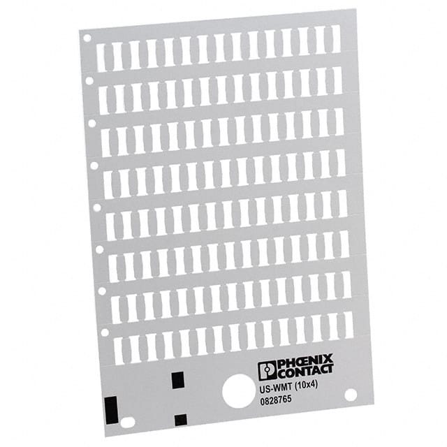 【0828765】CABLE MARKER CARD WHITE