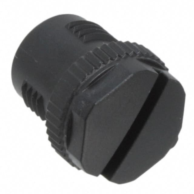 【1553129】CONN SCREW PLUG M12 BLACK