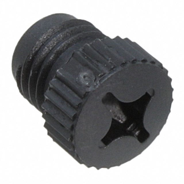 【1682540】CONN SCREW PLUG M8 BLACK
