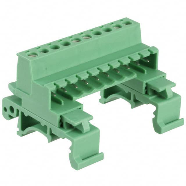 【1765768】TERM BLK PLUG 10POS 29.1MM GREEN