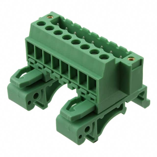 【1787982】TERM BLK PLUG 8POS 42.5MM GREEN