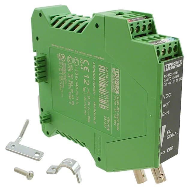 【2708083】FIBER OPTIC CONVERTER DIN RAIL