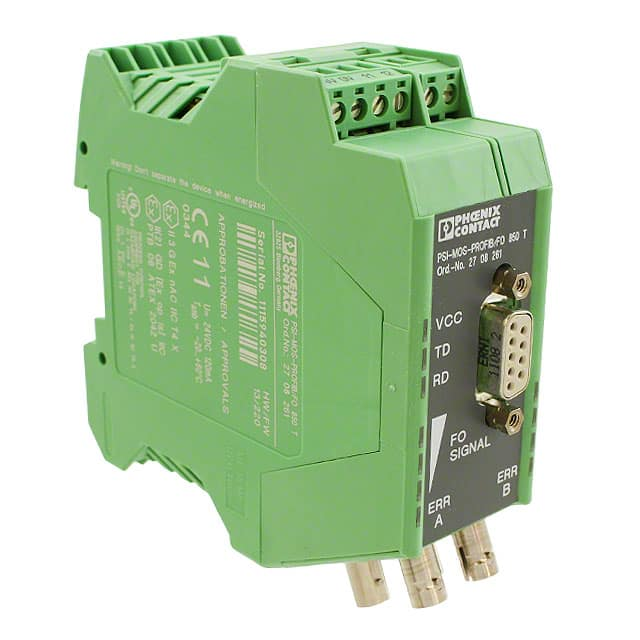 【2708261】FIBER OPTIC CONVERTER DIN RAIL