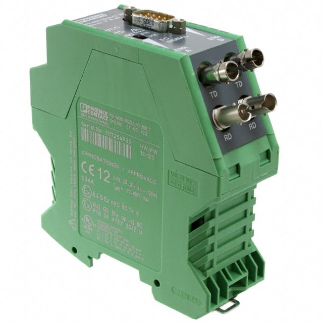 FIBER OPTIC CONVERTER DIN RAIL【2708423】
