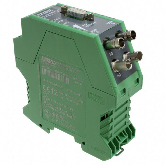 【2708614】FIBER OPTIC CONVERTER DIN RAIL