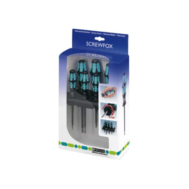 【1212539】SCREWDRIVER SET W/HOLDER 6PC
