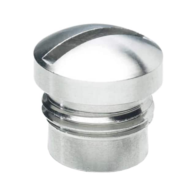 【1555538】CONN SCREW PLUG M12 SILVER