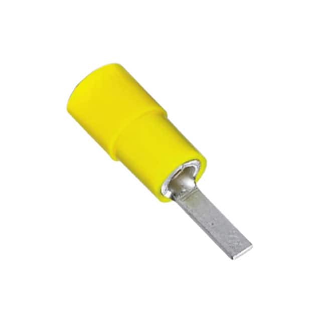 【3240533】CONN KNIFE TERM 10-12 AWG YELLOW