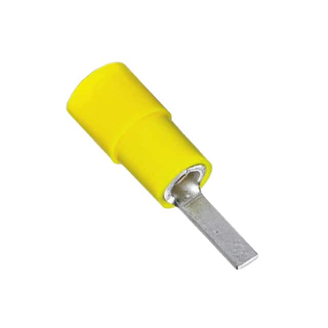【3240546】CONN KNIFE TERM 10-12 AWG YELLOW