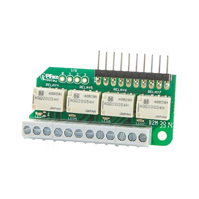 【PIS-0255】PIFACE RELAY EXTRA FOR RASPBERRY