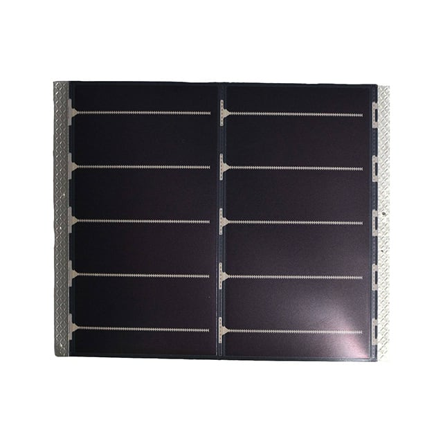 【LL200-2.4-75】LOW LIGHT SOLAR MODULE: 1.6V 200