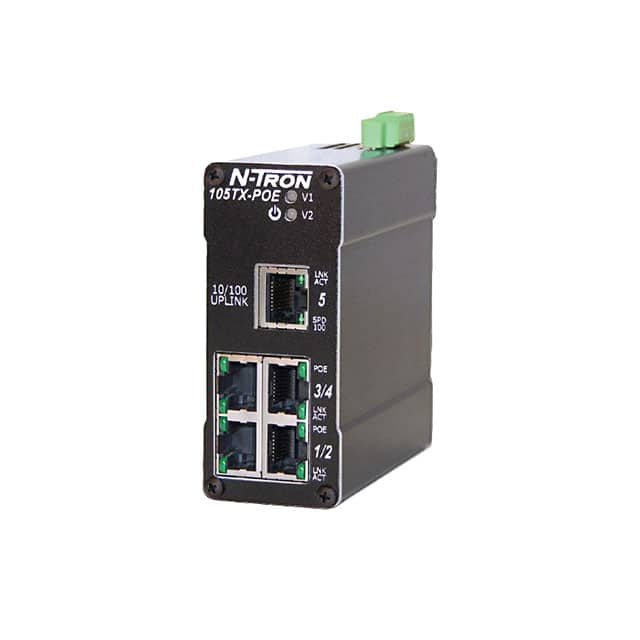 【105TX-POE】NETWORK SWITCH-UNMANAGED 5 PORT