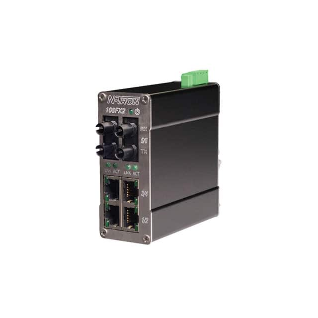 【106FX2-SC】NETWORK SWITCH-UNMANAGED 6 PORT