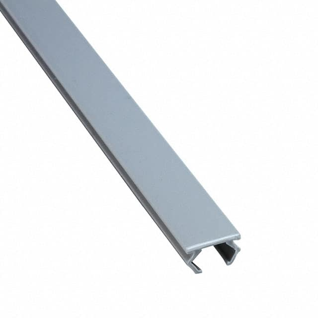 【4000577】COVER STRIP WHITE ALUMINUM, 2MET
