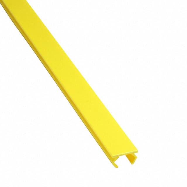 【4000579】COVER STRIP SAFETY YELLOW, 2METE