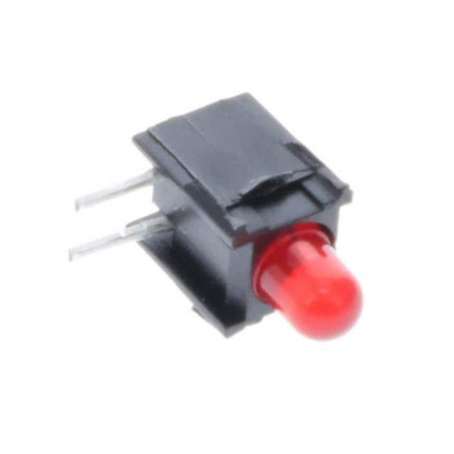 【0035.9640.1】HOLDER W/LED 3MM RED RT ANG SGL
