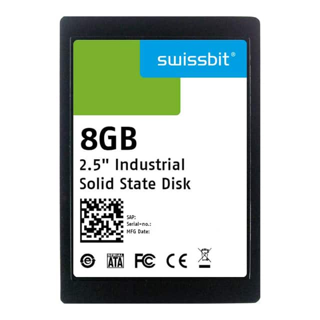 "SSD 16GB 2.5"""" SLC【SFSA016GQ1AA2TO-I-DB-216-STD】"
