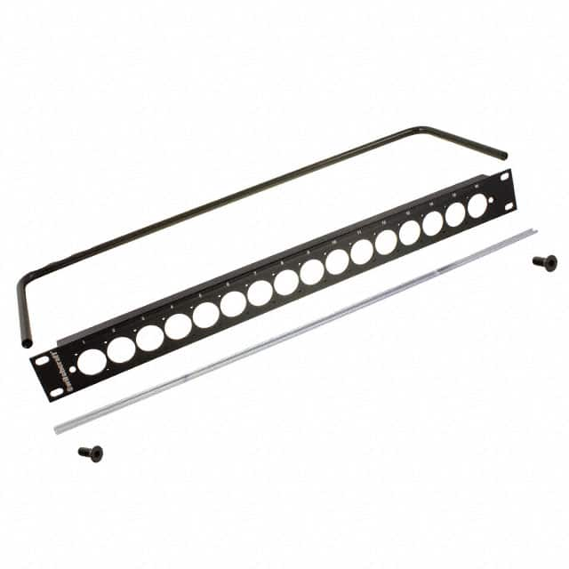 【QGPK1B440】CONN PATCHBAY BLANK PANEL 1.75""""