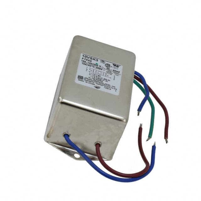 【1-6609036-0】LINE FILTER 250VAC 10A CHASS MNT