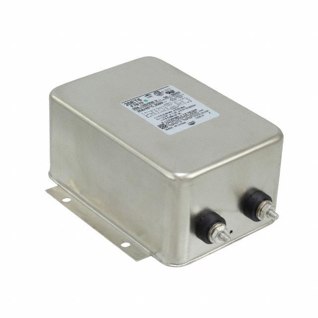LINE FILTER 250VAC 20A CHASS MNT【1-6609046-2】