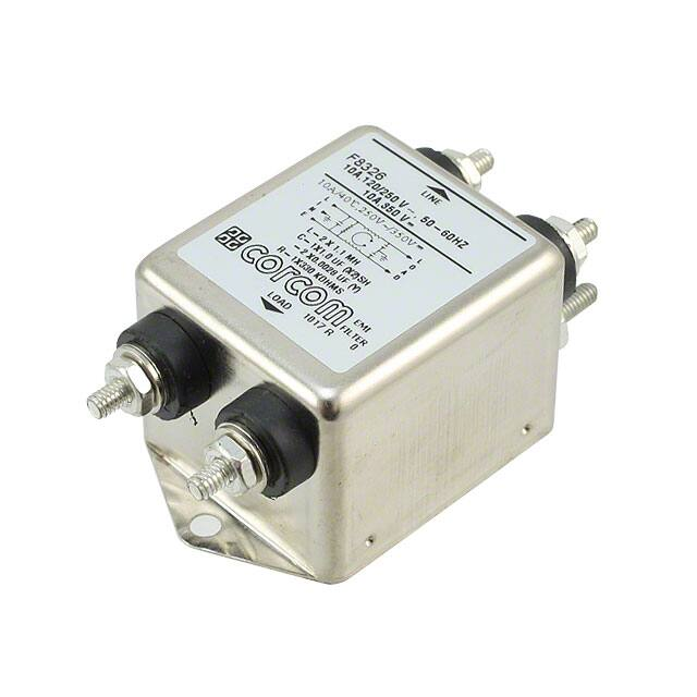 【1-1609034-4】LINE FILTER 250VDC/VAC 10A CHASS