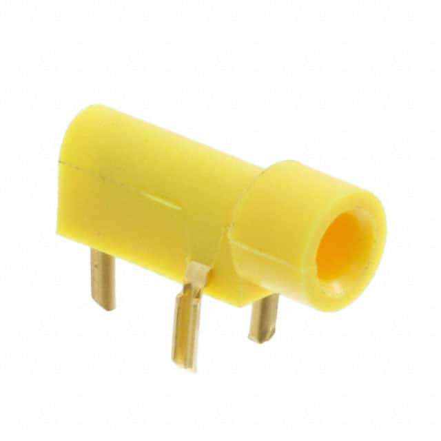 【350180-4】CONN TIP JACK SOLDER YELLOW