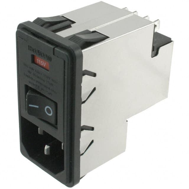 Pack of 2 4-6609959-3 PWR ENT MOD RCPT IEC320-C14 PNL