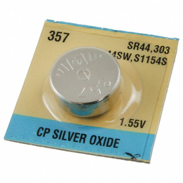 【A044】1.5 VOLT LR44 BUTTON BATTERY