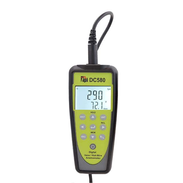 【DC580】AIRFLOW METER WITH BLUETOOTH