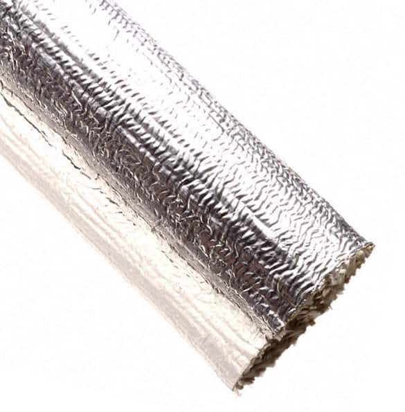"【TTN1.50SV100】SLEEVING 1.5"""" ID 100' SILVER"