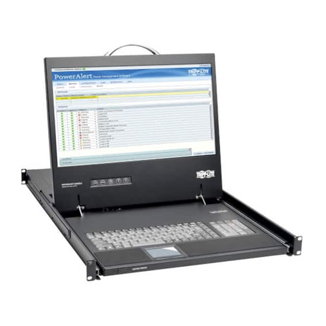 【B021-000-19-HD2】1U RACK-MOUNT CONSOLE WITH 19 IN