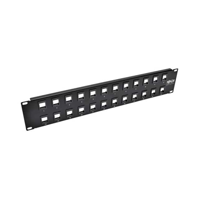 【N062-024-KJ】24-PORT 2U RACK-MOUNT BLANK KEYS