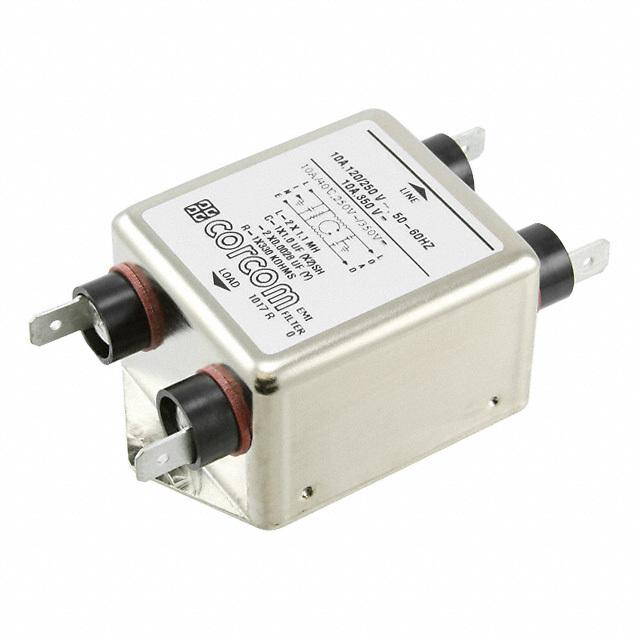 【1-1609034-3】LINE FILTER 250VDC/VAC 10A CHASS
