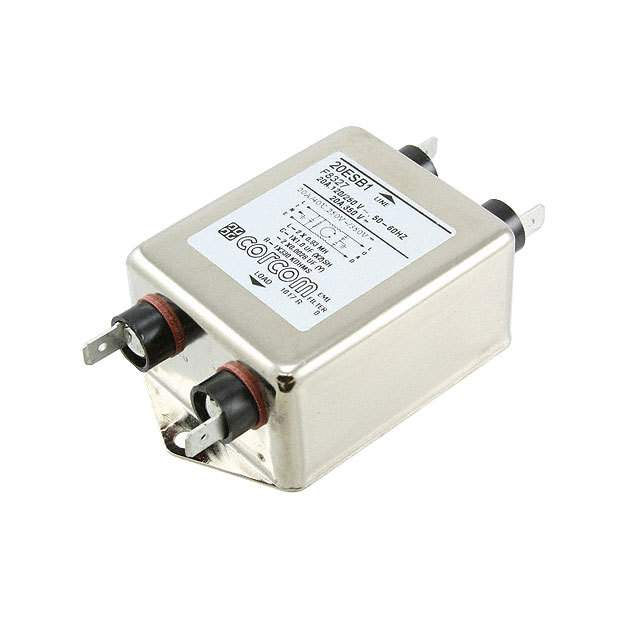 【1-1609034-7】LINE FILTER 250VDC/VAC 20A CHASS