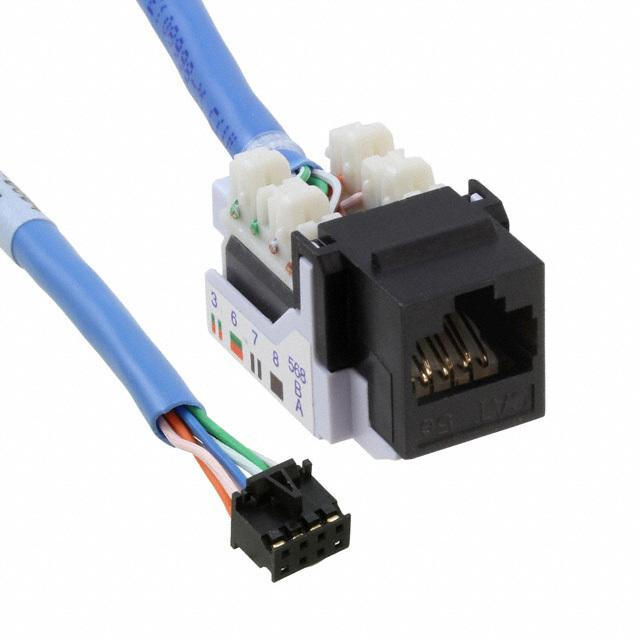 【VL-CBR-0804】12 ETHERNET ADAPTER CABLE
