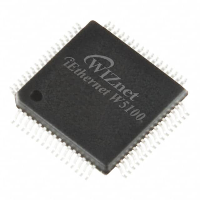 【W5100】IC CONTROLLER ETHERNET 80LQFP