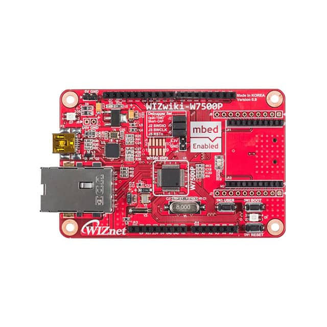【WIZWIKI-W7500P】EVALUATION BOARD