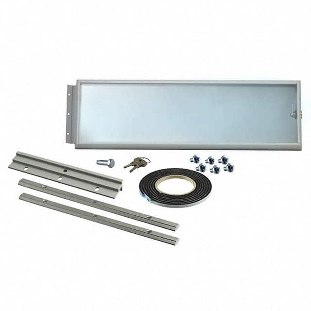 【3751320】RC FRONT DOOR WITH GLASS 3U/19""""