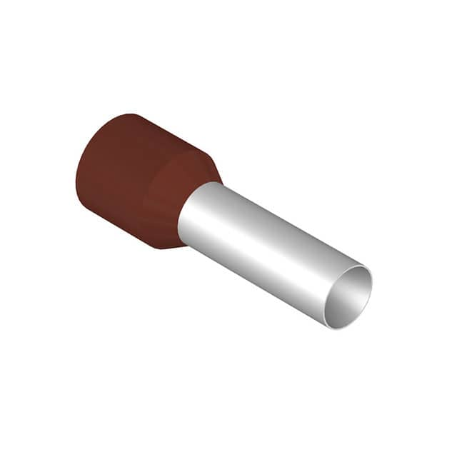 【0317100000】FERRULE DIN BROWN 3AWG 1=50PC