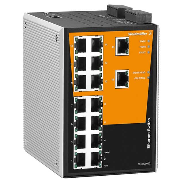 【1241100000】NETWORK SWITCH-MANAGED 16 PORT