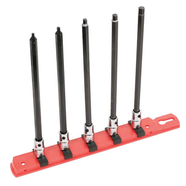 "【77192】SOCKET SET HEX 1/4"""" 5PC"