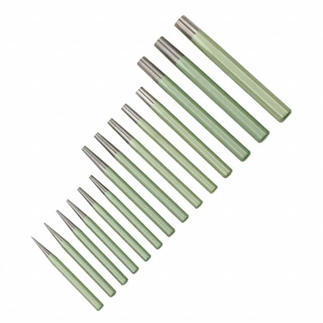 【12492】PUNCH PIN TAPER 14PC SET 1-18MM