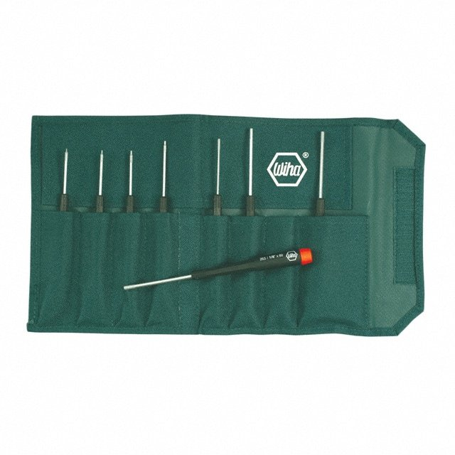 【26399】SCREWDRIVER SET HEX W/POUCH 8PC