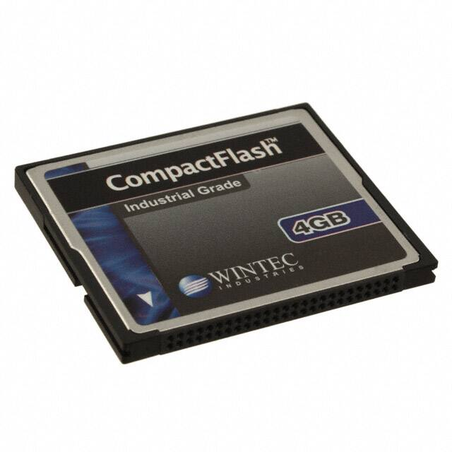 【W7CF004G1XA-H20PD-2Q2.A3】MEMORY CARD COMPACTFLASH 4GB SLC
