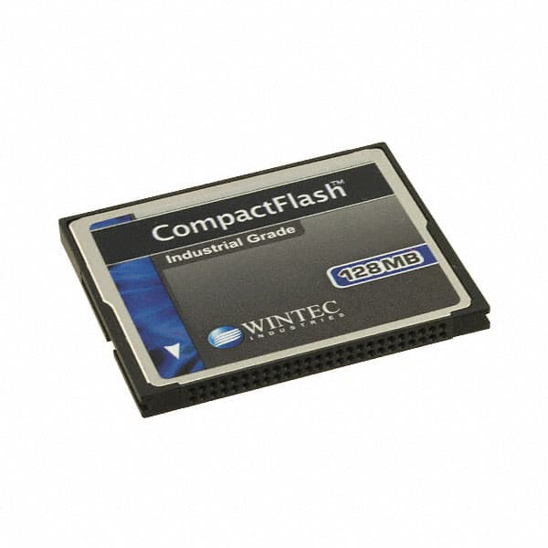 【W7CF128M1XA-H20PD-001.A3】MEM CARD COMPACTFLASH 128MB SLC