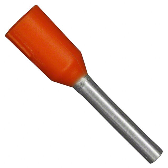 【102050】CONN FERRULE W TYPE 22AWG ORANGE