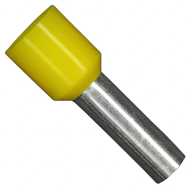 【11121060】CONN FERRULE DIN 10AWG YELLOW