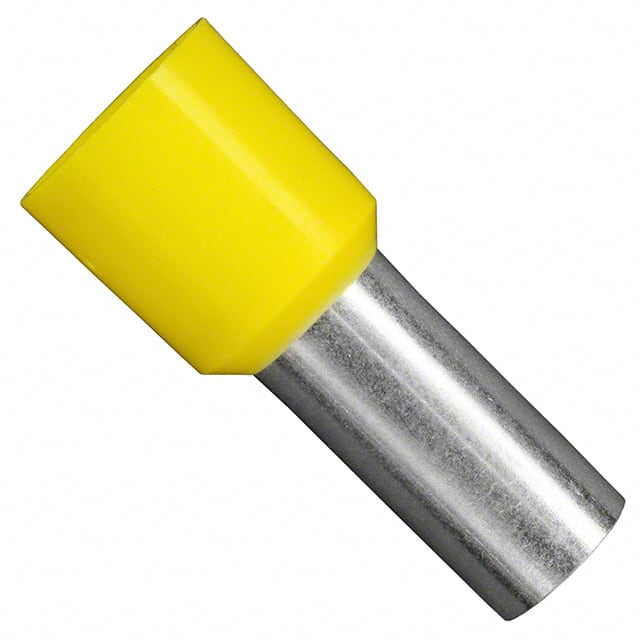 【11161250】CONN FERRULE DIN 4AWG YELLOW